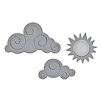Spellbinders Die D-Lites Sun and Clouds (S2-273)