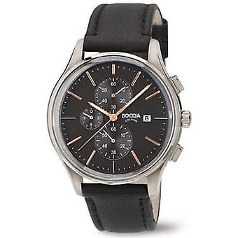 Boccia Titanium 3756-02 Miesten Watch