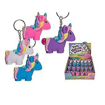 Poo Poo Unicorn Keychain (one Supplied At Random)