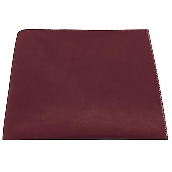 Luxury Burgundy Velvet Pocket Square