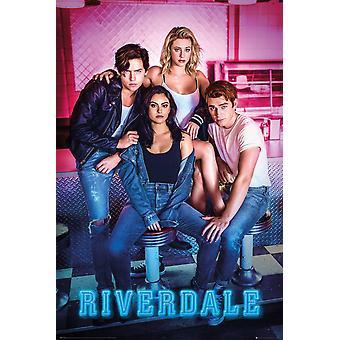 Personajes del cartel de Riverdale 91,5 x 61 cm