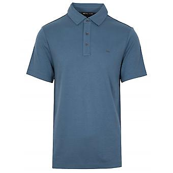 Michael Kors  Classic Dark Chambray Polo Shirt