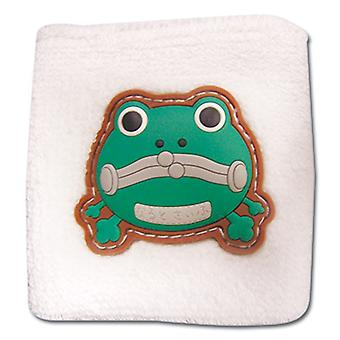 Sweatband - Naruto Shippuden - New Frog Purse Logo White Anime ge8078