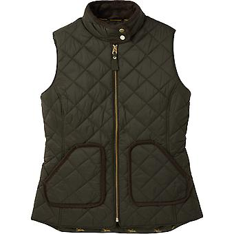 Joules Womens Brookdale equipado Quilted Gilet corpo aquecedor