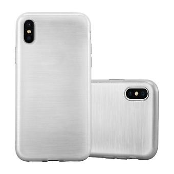 Cadorabo Hülle für Apple iPhone X / XS Case Cover - Handyhülle aus flexiblem TPU Silikon – Silikonhülle Schutzhülle Ultra Slim Soft Back Cover Case Bumper