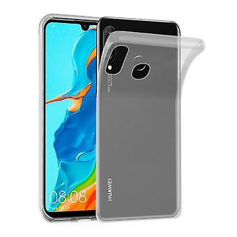 Cadorabo geval voor Huawei P30 LITE gevaldekking-mobiele telefoon geval gemaakt van flexibele TPU silicone-silicone geval beschermende case ultra slanke zachte terug Cover Case bumper