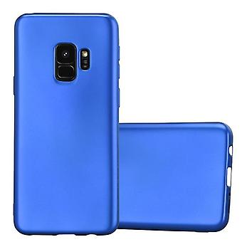 Cadorabo Hülle für Samsung Galaxy S9 Case Cover - Handyhülle aus flexiblem TPU Silikon – Silikonhülle Schutzhülle Ultra Slim Soft Back Cover Case Bumper