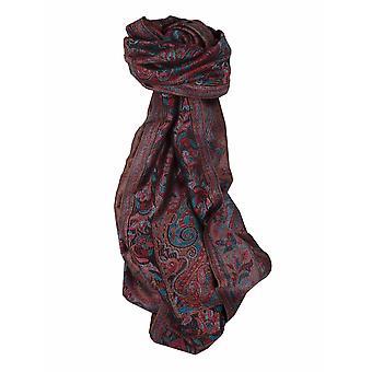 Mens Jamawar Premium Silk Scarf Pattern 5989 by Pashmina & Silk