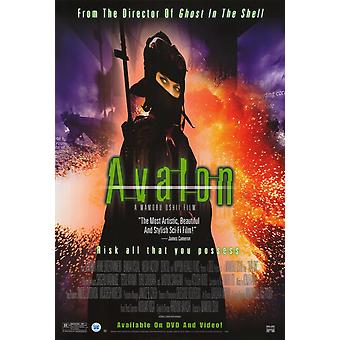 Avalon (Single Sided Video) (2001) Original Video Poster