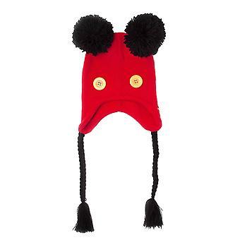 Mickey Mouse Beanie Laplander Hat nieuwigheid oren nieuwe officiële Disney Unisex