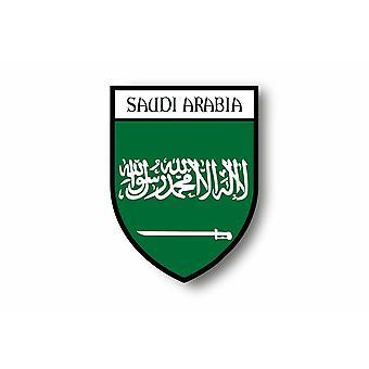 Sticker Adesiv moto auto Blason City Bandiera Saudita Arabia Saudita