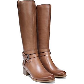 Naturalizer Womens Kim lederen amandel teen knie hoge paardrijden laarzen