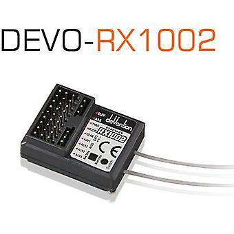 Récepteur de 10CH 2 .4GHz Devo, RX1002