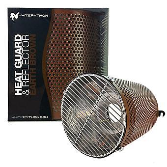White Python Heat Guard & Reflector - Earth Brown