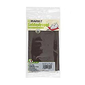 Marbet MB120.037 | Travaux de réparation tissu de coton | Fer-sur | 40 x 15cm | Vert d'armée