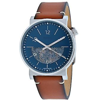 Hombres fósiles's Barstow Blue Dial Watch - ME3168