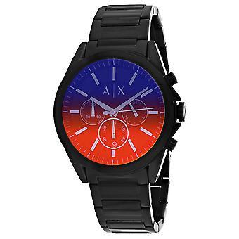 Armani Exchange Men's Drexler Red Dial Watch - AX2615