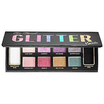 Too faced glitter bomb prismatic glitter eye shadow palette