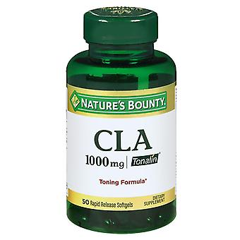 Nature's bounty cla, 1000 mg, dietary supplement, softgels, 50 ea