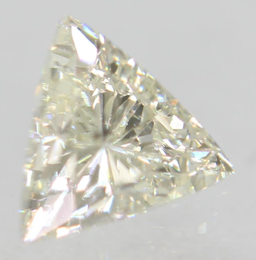 Certified 0.35 Carat G VS2 Triangle Natural Loose Diamond For Ring 5.04x4.82mm