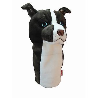 Daphnes Pitbull Terrier Golf Driver Headcover