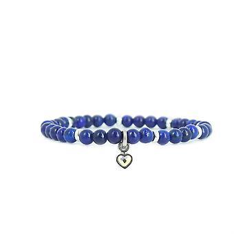 Les austauschbare Armband A59939 - Perle Herz Marine Frau