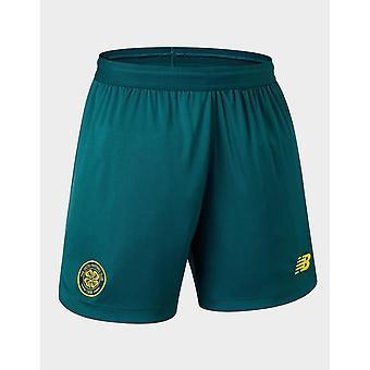 New New Balance Celtic FC 2019/20 Away Shorts Green