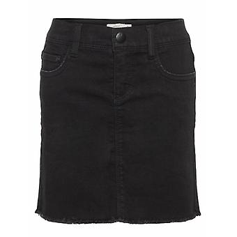 Name it Zwart Meisjes Rokje Bilura Black Denim