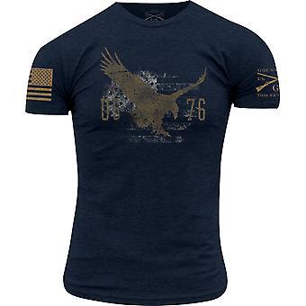 Grunhido Estilo True American Spirit T-Shirt - Midnight Navy