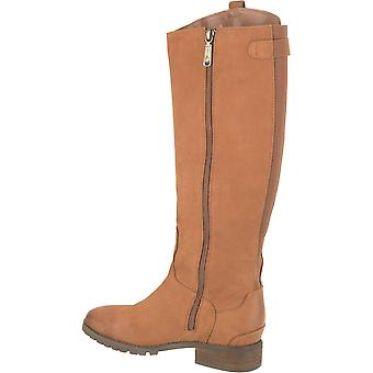 Blondo Womens Pakita Leather Round Toe Knee High Fashion Boots