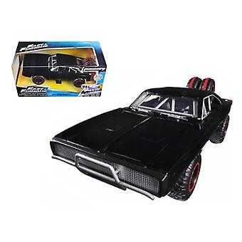 Dom'apos;s 1970 Dodge Charger R/T Off Road Version 'Fast 'and Furious 7' Movie 1/24 Diecast Model Car par Jada