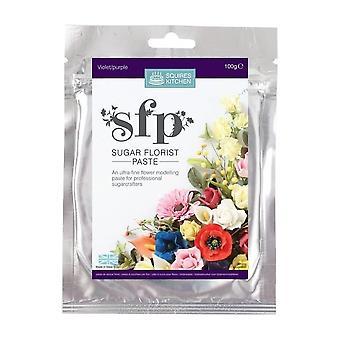 Squires Kitchen SFP Sugar Florist Incolla Viola (Viola) 100g