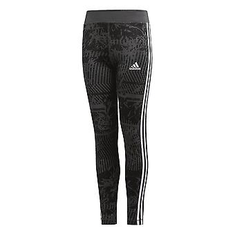 Adidas Girls Training Equipment 3-stripes Tight