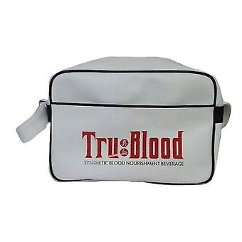 Prawdziwe krew Retro Bag Logo Biały