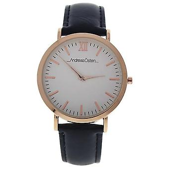Andreas osten Quartz Analog Woman Watch with AO-03 Cowskin Bracelet