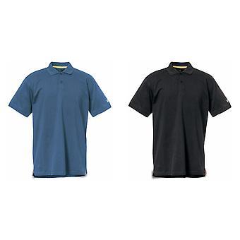 Camisa de Polo de manga corta de Caterpillar para hombre clásico