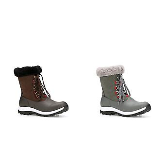 Muck Boots Womens/Ladies Apres Leather Lace Up Mid Boot