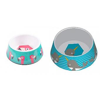Ministry Of Pets Melamine Non-slip Pet Bowl