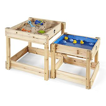 Plum Sandy Bay Wooden Sand and Water Table