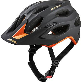 Alpina carapace 2.0 bike helmet / / black/orange