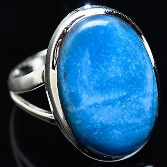 Large Owyhee Opal Ring Size 12 (925 Sterling Silver)  - Handmade Boho Vintage Jewelry RING3922