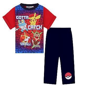 Pokemon Pikachu Cadeau officiel Boys Long Pyjamas