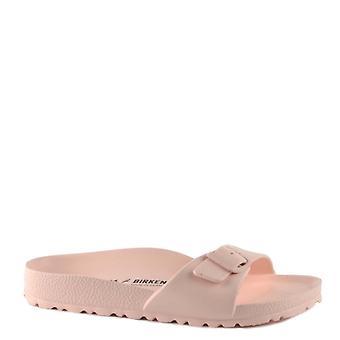 Birkenstock Madryt Eva Rose Klamra Płaskie sandały