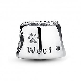Sterling Silver Charm Dog Paw - 5210