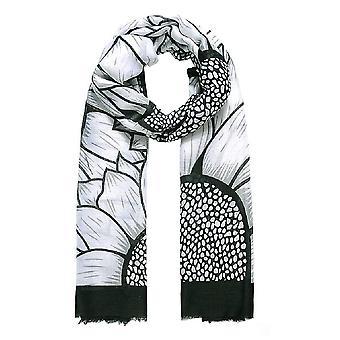 Jewelcity Womens/Ladies Large Sunflower Print Scarf