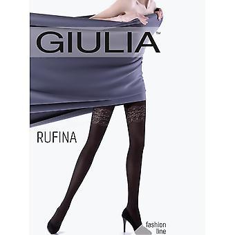 Giulia Rufina Garter Design Tights - Hosiery Outlet