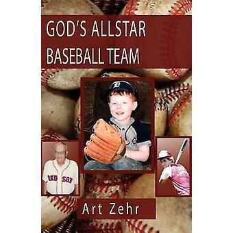 GODS ALLSTAR BASEBALL TEAM by Zehr & Art