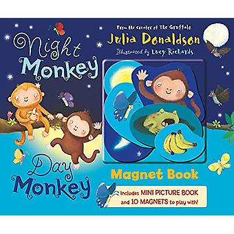 Night Monkey - Day Monkey Magnet Book by Julia Donaldson - 9781405288