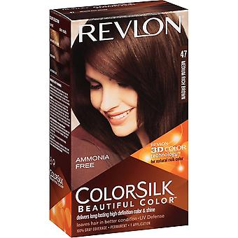 Revlon Colorsilk Haircolor, Medium Rich Brown 47, 6 Pack