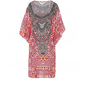 Inoa Shiraz Short Silk Kaftan